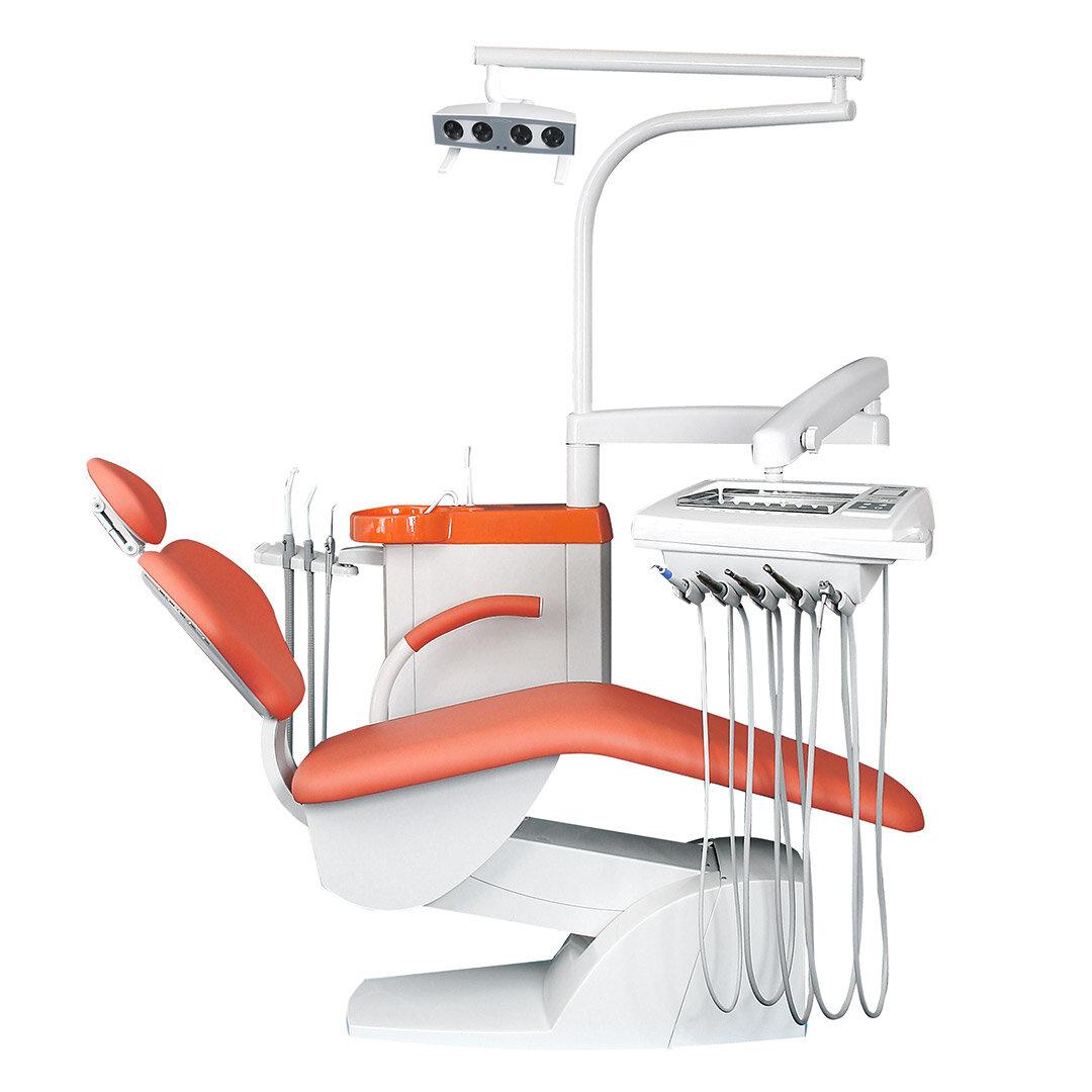 STOMADENT IMPULS S100 - стоматологическая установка с нижней подачей инструментов