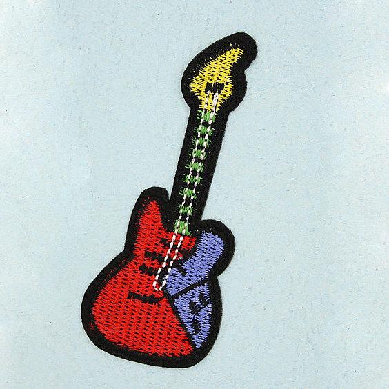 Нашивка Гитара