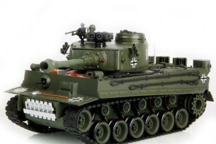 Танк Tiger 1:20 фото 1
