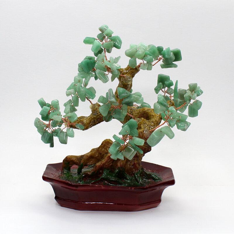 Дерево счастья нефрит, высота 18см