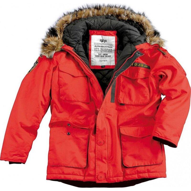 Куртка ALPHA INDUSTRIES — купить по выгодной цене на Яндекс.Маркете