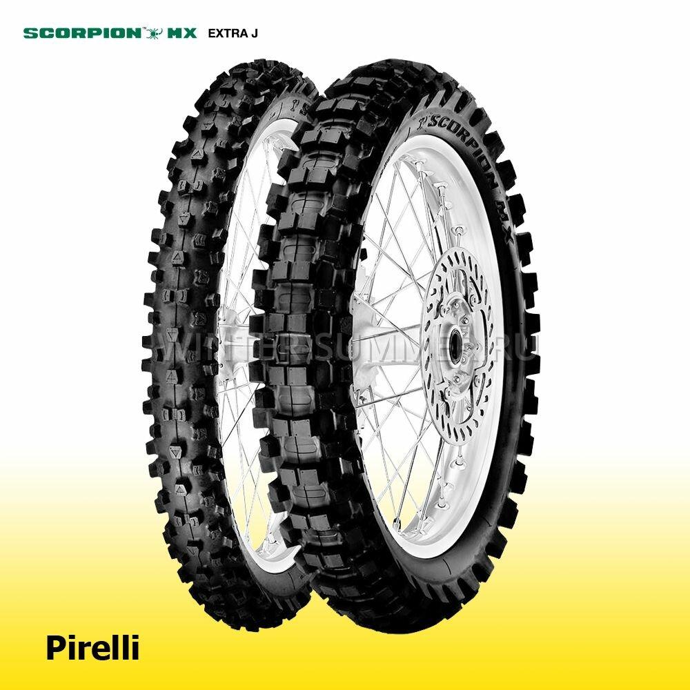 Pirelli Scorpion MX Extra J 70/100 -19 42M TT Front (2134500)