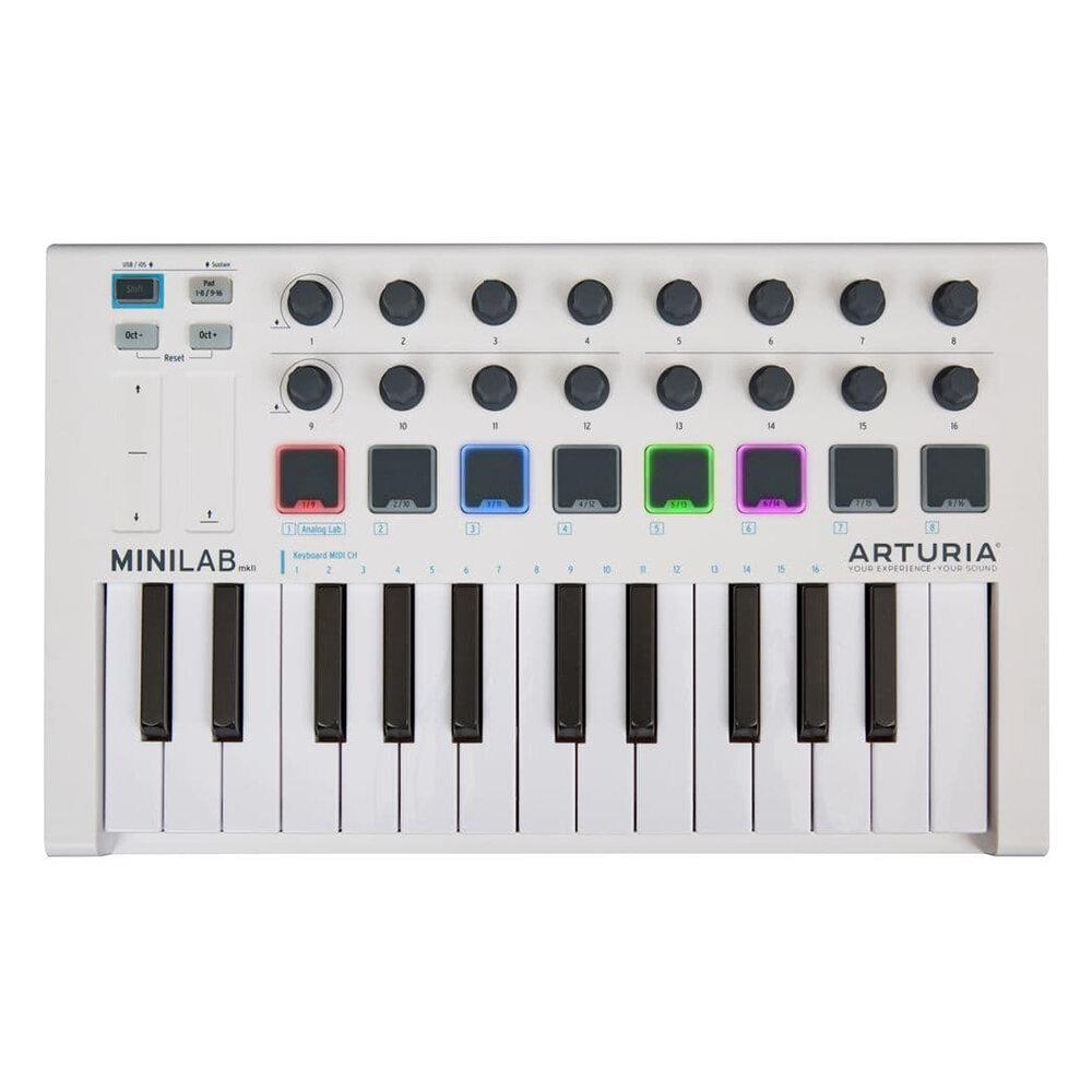 MIDI клавиатуры / MIDI контроллеры Arturia MiniLab mkII