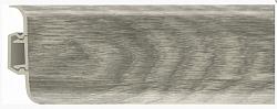 Плинтус напольный пластиковый (ПВХ) Rico 47 Дуб норвежский