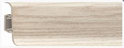 Плинтус напольный пластиковый (ПВХ) Rico 18 Дуб Аляска