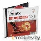 CD-R Mirex 700 Mb, 48х, HotLine, Slim Case (1), (1/200)