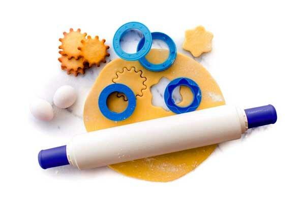 Tupperware Скалка с кольцами насадками