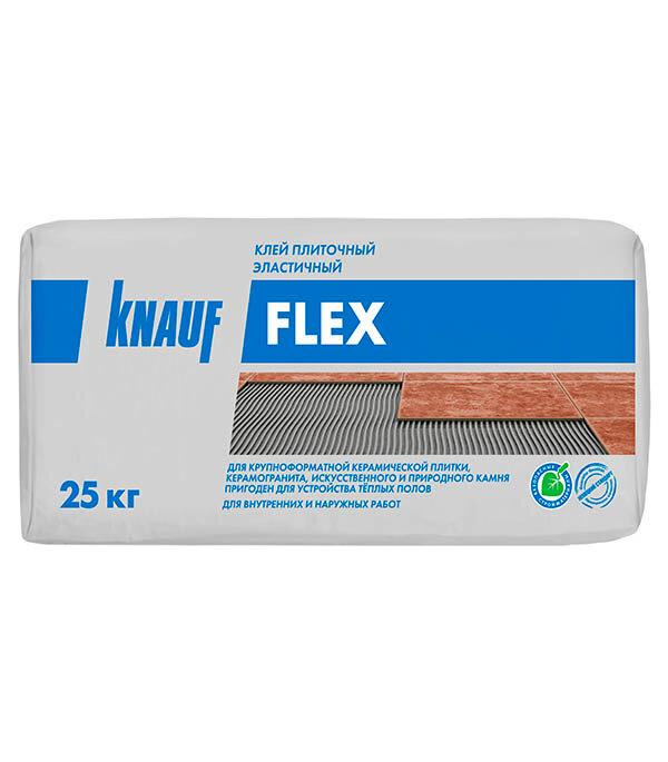 Клей для плитки Knauf Флекс 25 кг эластичный