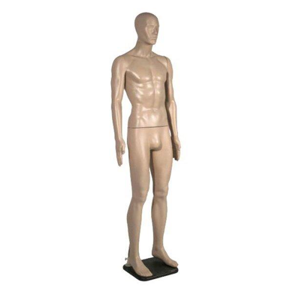 Манекен мужской телесный М1-RU