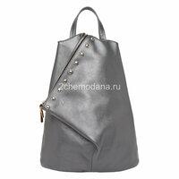 be95d770cd5b Рюкзак french натуральная кожа (серебряный) купить в интернет ...