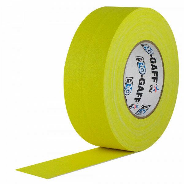 Клейкая лента Pro Gaff широкая желтая