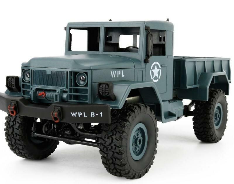 Внедорожник WPL Military Truck 4WD 1:16 фото 1