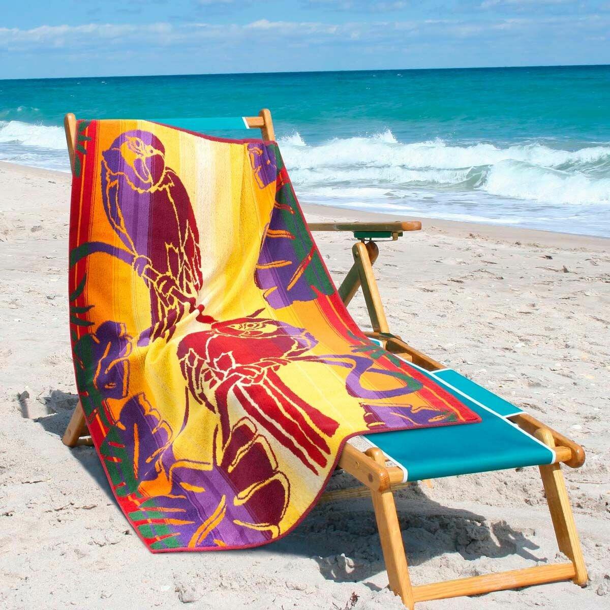 Полотенце для пляжа Guten Morgen / Гутен Морген Полотенце пляжное Guten Morgen