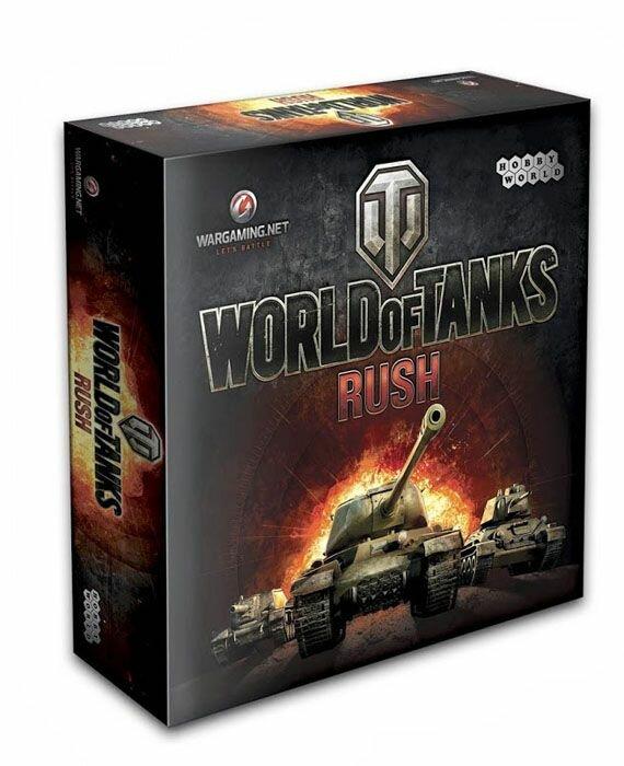 Hobby World Настольная игра World of Tanks Rush (2-е издание)