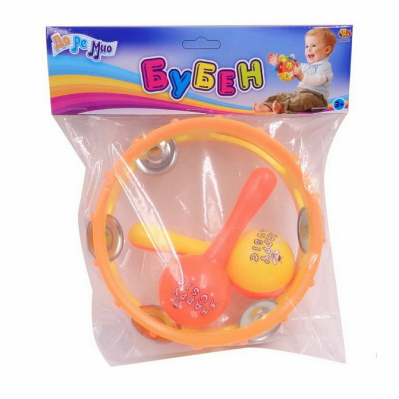 Бубен Junfa toys