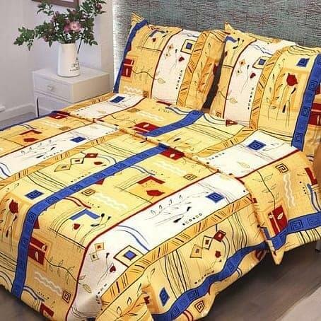 Комплекты постельного белья ТМ Вселенная текстиля Постельное белье Sheffie Цвет: Бежевый (1,5 спал.)