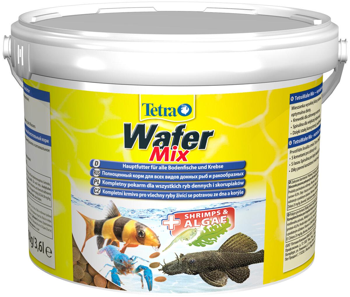 Tetra WAFER MIX — Тетра корм-чипсы для донных рыб и ракообразных (15 гр)