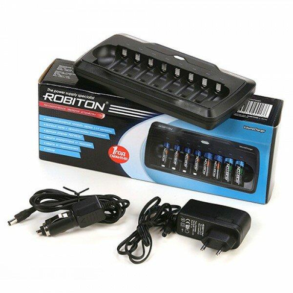 Зарядное устройство на 8 аккумуляторов Robiton VolumeCharger Robiton 102-02