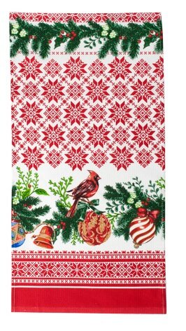 Новогоднее полотенце Праздник