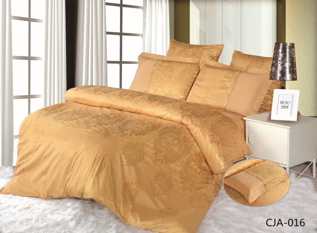 CJA-016 - комплект постельного белья, евро, сатин-жаккард в коробке, АльВиТек