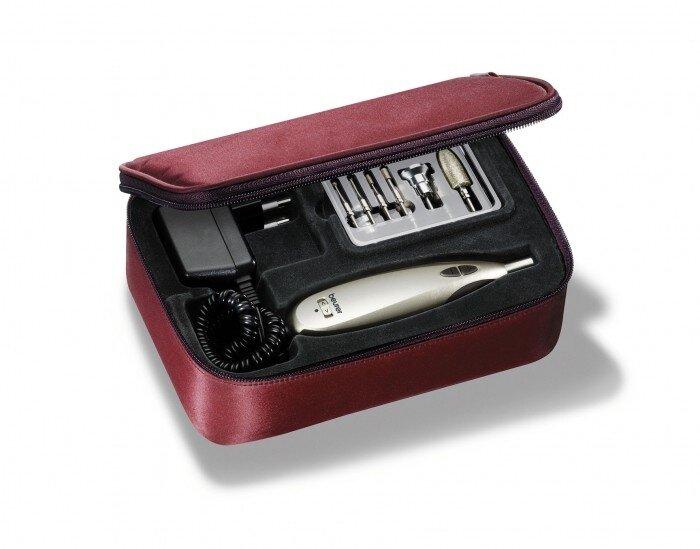 Косметический набор для маникюра и педикюра (маникюрно-педикюрный) Beurer (Бойер) MP60 (9 насадок)