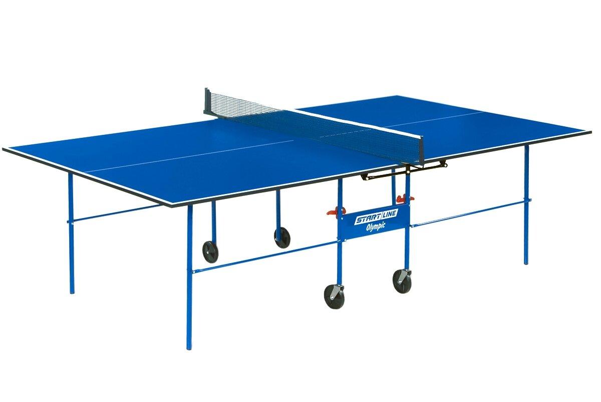 Теннисный стол с сеткой Start Line 6021-1 Olympic (с аксессуарами)