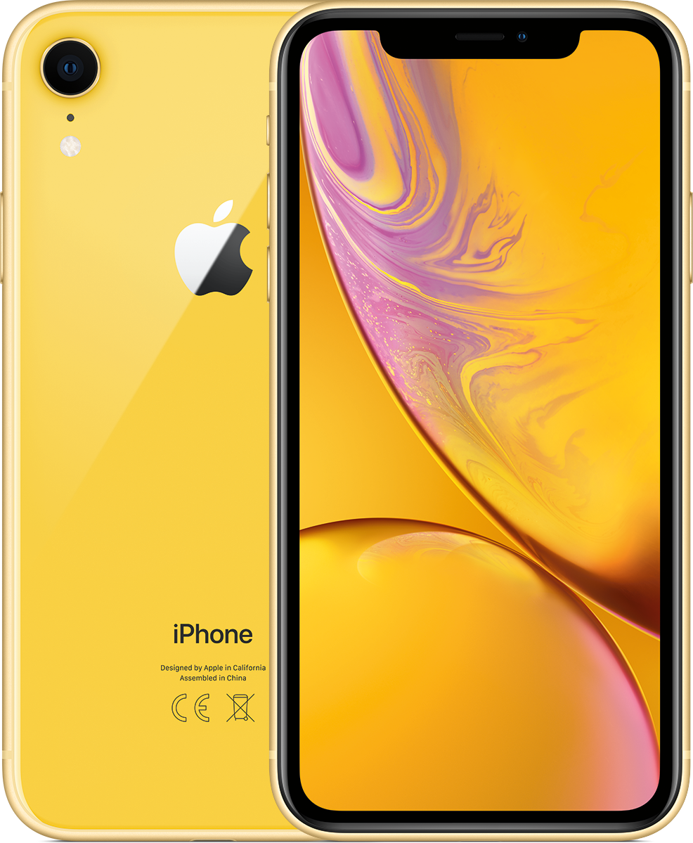 Смартфон Apple iPhone XR 64GB Жёлтый (iPhone в комплекте с тарифом)