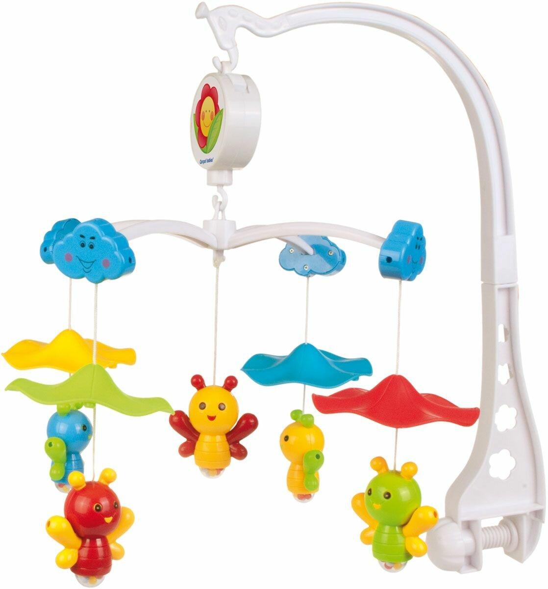 Механический мобиль Canpol Babies Пчелки под зонтиком (75/002)
