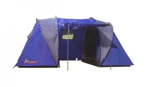 Lanyu Палатка туристическая 2 комнаты 4-местная 1699