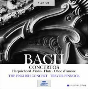 "English Concert, The ""J.S. Bach: Concertos for solo instruments"""