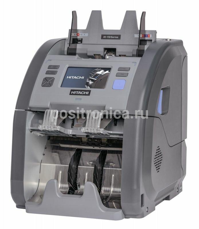 Счетчик банкнот Hitachi iH-110 серый