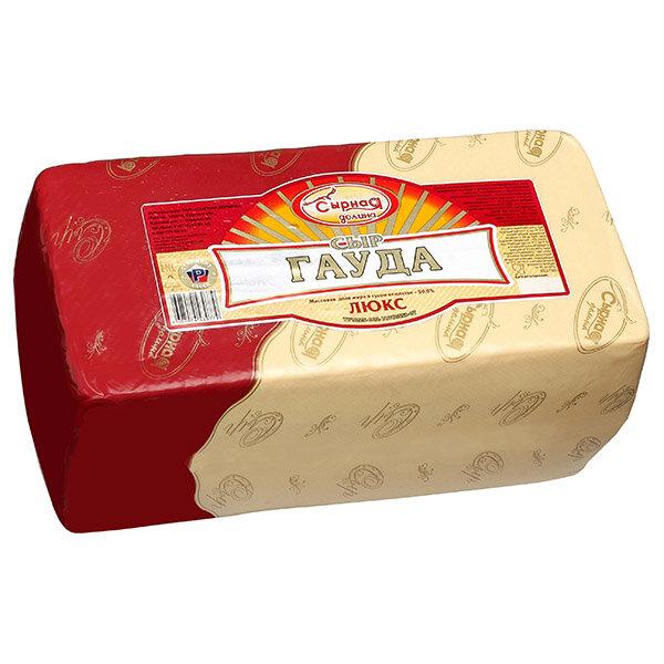 Сыр Сырная Долина Гауда люкс 50% на развес 100 г