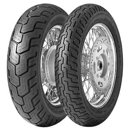 Мотошины 120/80 R17 Dunlop Kabuki D404 61S TL Передняя (Front) 2016