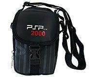Многофункциональная cумка Game Guru для Sony PSP/PSP 2000 (черная)