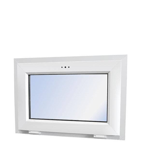 Окно пластиковое VEKA WHS Halo 500х700 мм 1 створка откидная фрамуга