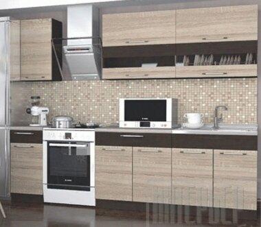 Готовый комплект Кухня Маша ЛДСП 2,0М (Венге/Дуб Сонома)