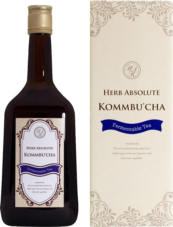 Напиток сильногазированный Kommbu`cha Herb Absolute / Херб Абсолют стекло (0,72л*8шт)