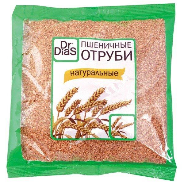 DR.DIAS Отруби пшеничные 200 г