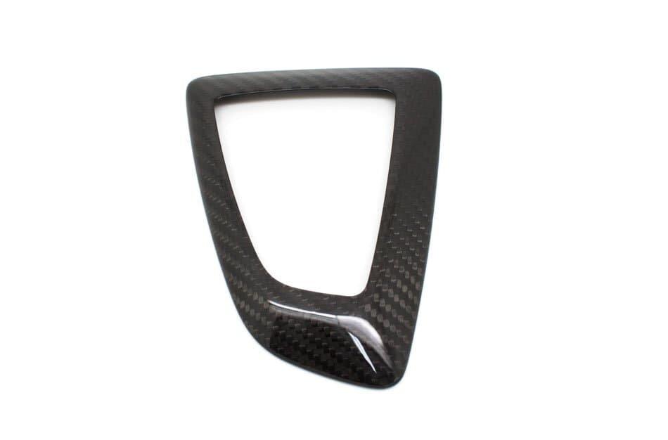 Накладка на консоль АКПП карбон для BMW