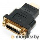 HDMI (M) -> DVI-I (F), 5bites (DH1807G), позолоченные контакты