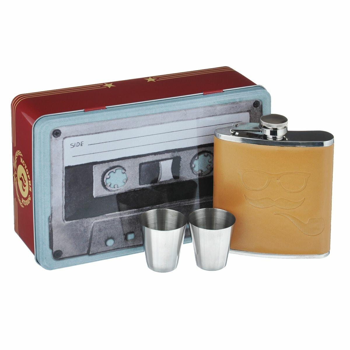 """Набор подарочный Феникс-презент """"Аудиокассета"""", 3 предмета"""