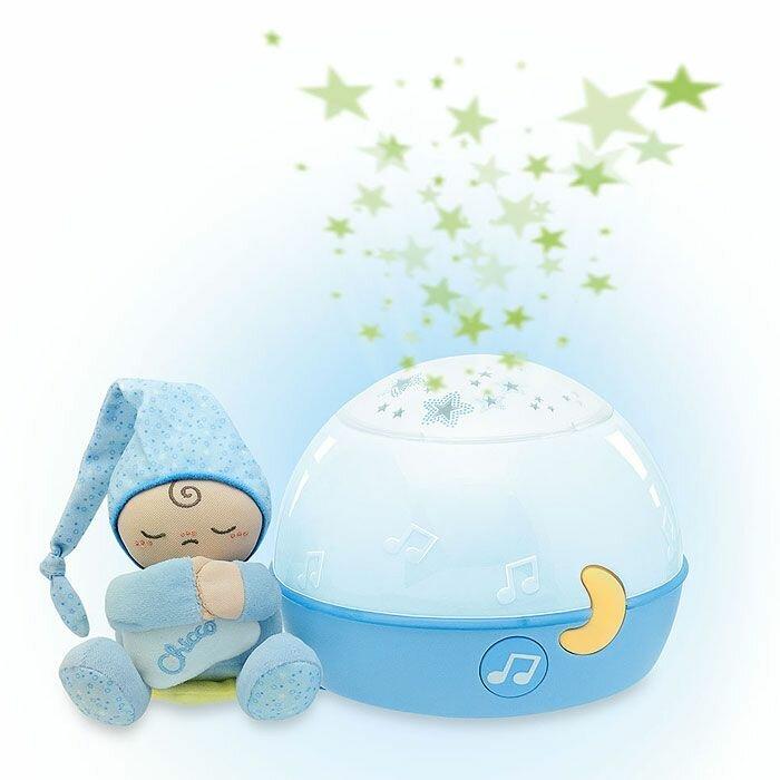 Ночник-проектор Chicco Первые грезы (голубой)