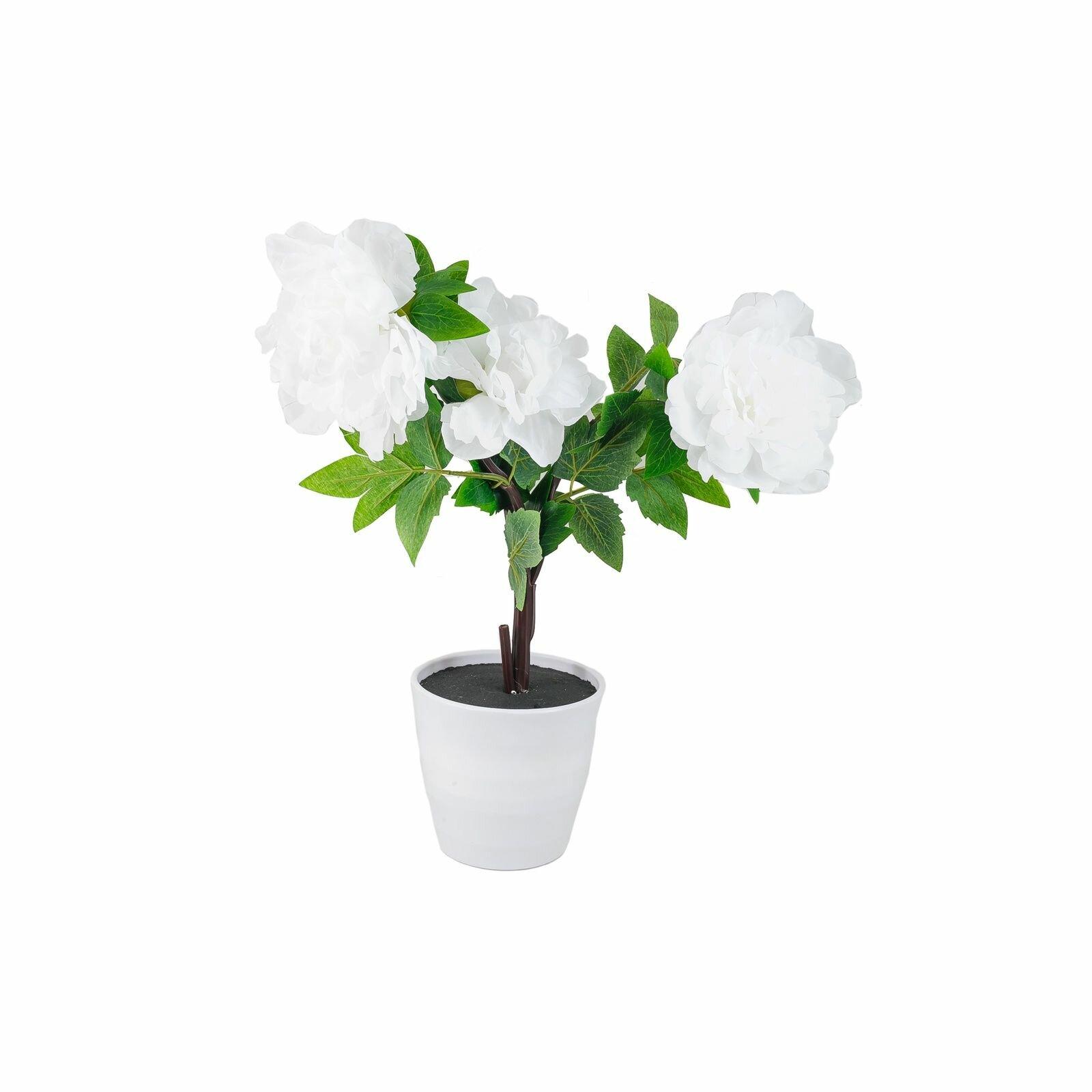 Декоративный светильник старт LED Пион3, белый, белый