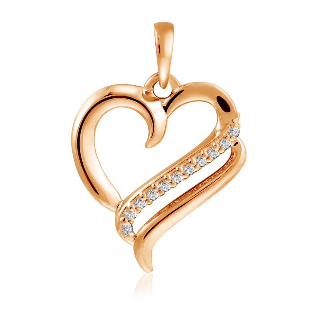 Бронницкий ювелир Подвеска из золота Э2972-01П113660