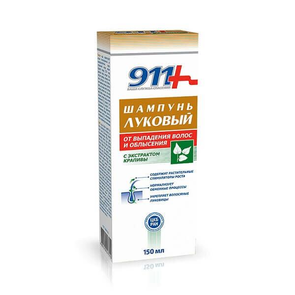 911-шампунь Луковый (с экстр. крапивы п/выпадения волос/облысения 150мл)