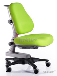 Детское кресло Newton зеленый однотонный