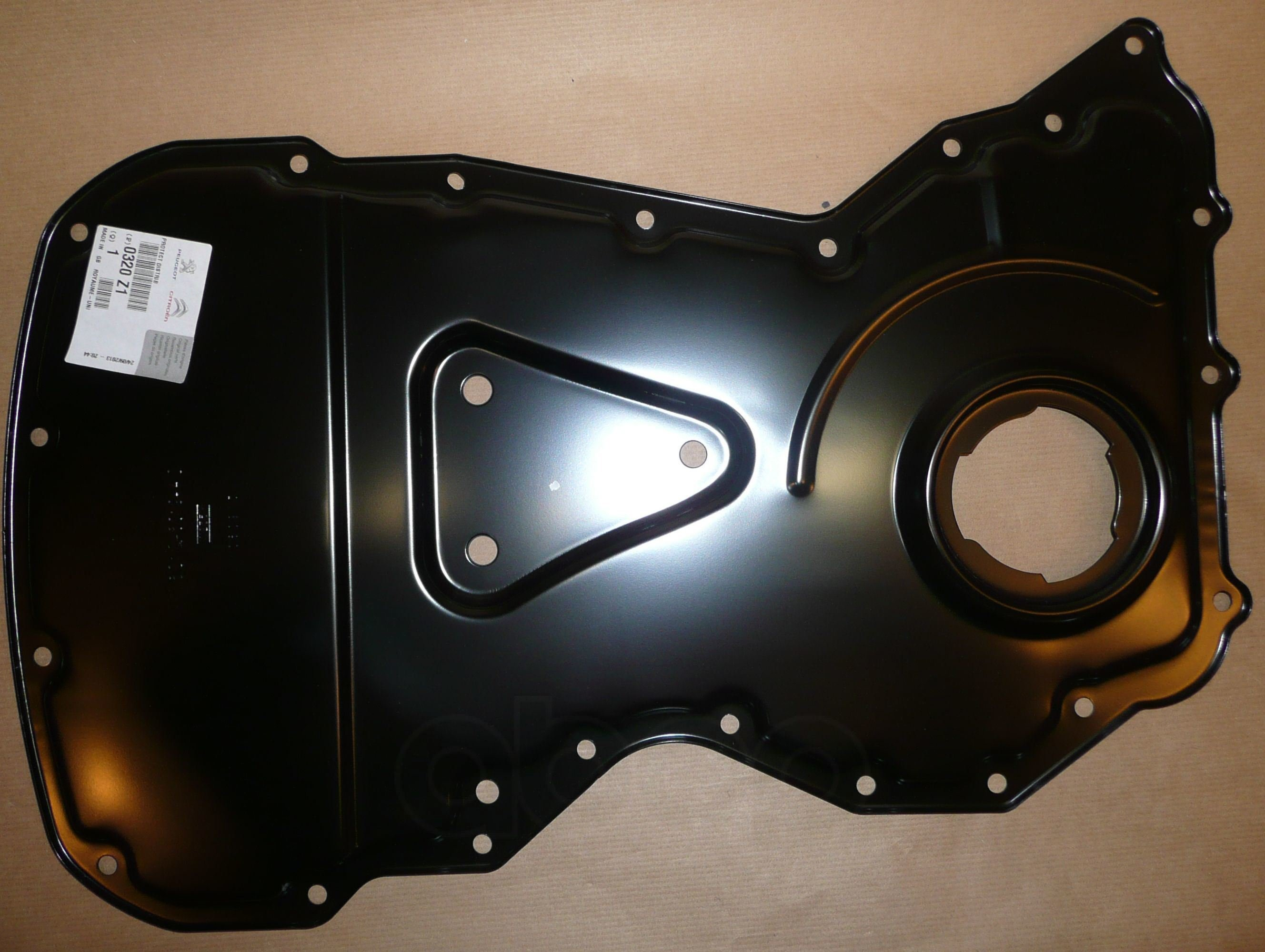 Крышка Защитная Двигателя Цепного Привода Citroen: Jumper Peugeot: Boxer 3 Peugeot-Citroen арт. 0320Z1