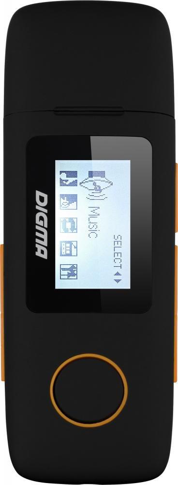 Плеер Digma U3 4Gb (черный)