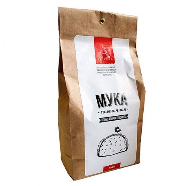 АРИВЕРА АРИВЕРА/ Мука пшеничная особо тонкого помола, 1 кг