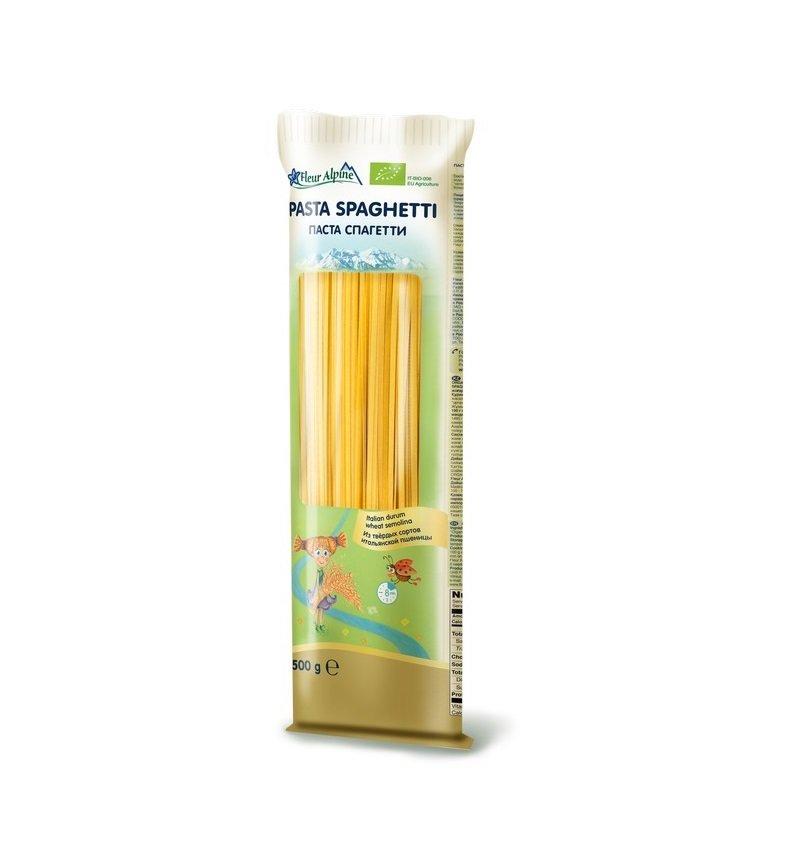 Паста Флёр альпин Органик Спагетти, 500 г, 1 шт